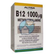 90 tabletten Altisa B12 1000 mcg Methylcobalamine