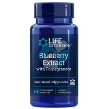 60 capsules Life Extension Blueberry Extract with Pomegranate