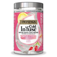 10 zakjes Twinings Cold Infuse Citroen Hibiscus