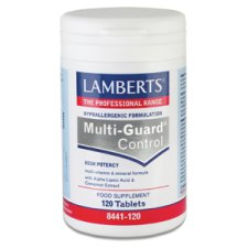120 tabletten Lamberts Multi-Guard Control