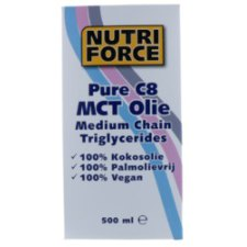 500 ml Naproz Nutriforce Pure C8 MCT Olie
