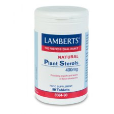 90 tabletten Lamberts Plant Sterols 400mg