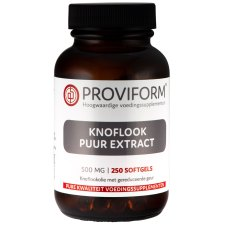 250 softgels Proviform Knoflook Puur Extract 500 mg