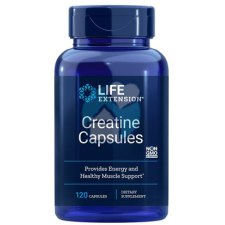120 capsules Life Extension Creatine Capsules