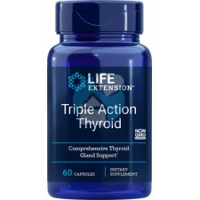 60 capsules Life Extension Triple Action Thyroid