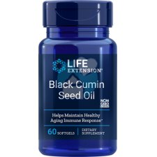 60 softgels Life Extension Black Cumin Seed Oil