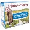 150 Gramm Le Pain des Fleurs Krokante Bio Crackers Boekweit Zonder Zout Biologisch