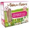 150 Gramm Le Pain des Fleurs Krokante Bio Crackers Meergranen Biologisch
