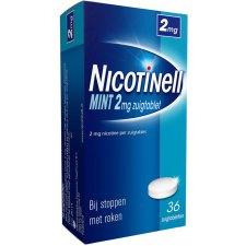 36 zuigtabletten Nicotinell Zuigtablet Mint 2mg