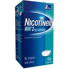 96 tabletten Nicotinell Zuigtablet Mint 2mg