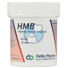 60 tabletten DeBa Pharma HMB Hydroxy-Methyl-Butyraat 750 mg
