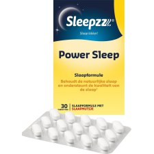 30 tabletten Sleepzz Power Sleep Slaapformule