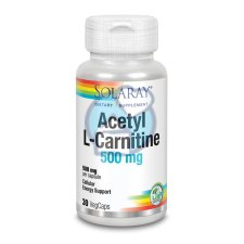 30 capsules Solaray Acetyl L-Carnitine 500 mg