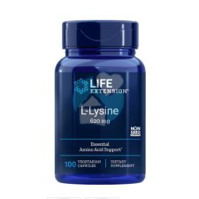 100 capsules Life Extension L-Lysine 620 mg