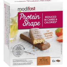 162 gram Modifast Protein Shape Repen Caramel Chocolade
