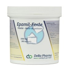 180 softgels DeBa Pharma Epamil Forte Visolie 1000 mg