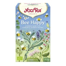 17 zakjes Yogi Tea Bee Happy Biologisch