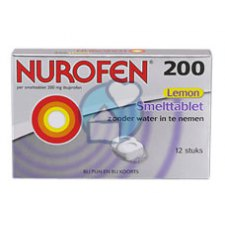 12 tabletten Nurofen Nurofen 200mg Lemon Smelttablet