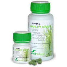 100 tabletten SoriaNatural Barley Grass