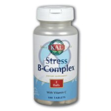 100 tabletten KAL Stress B Complex with C