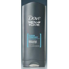 400 ml Dove Men Care Body Face Shower Gel Clean Comfort