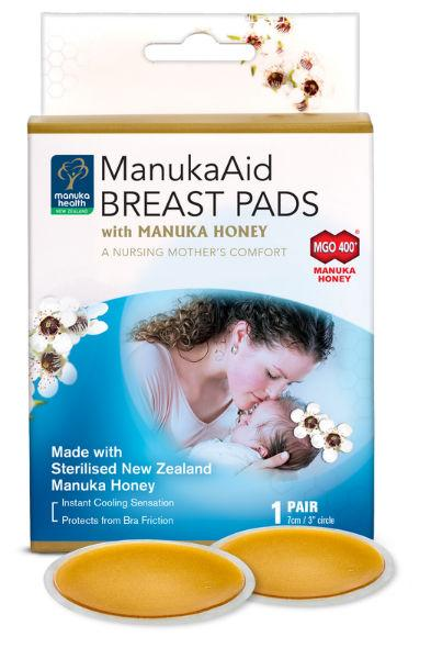 Manuka Health ManukaAid Breast Pads MGO 400+